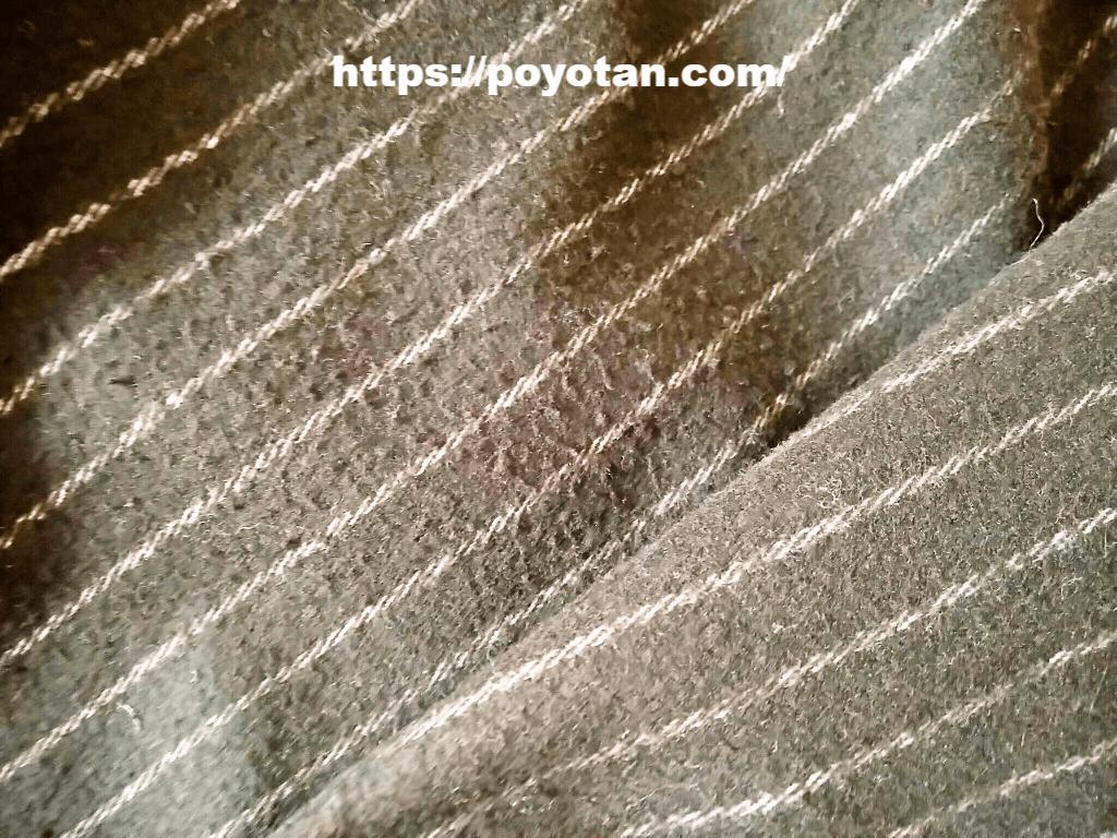 エアークローゼットの洋服の毛玉