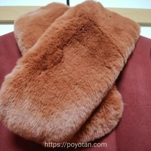 メチャカリ:コートのファー