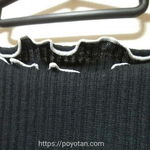 メチャカリ:セーターの生地