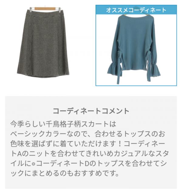 ピックス(pickss)の届いた洋服のコーディネートB
