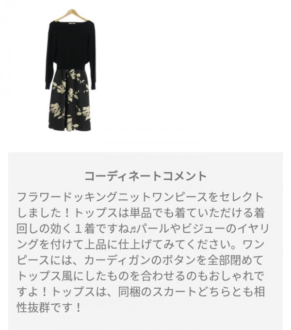 ピックス(pickss)の届いた洋服のコーディネートD