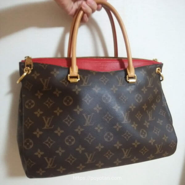 ラクサスのバッグ:LOUIS VUITTON パラス