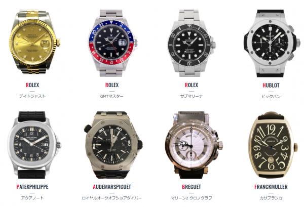 バイセルハントのレンタル腕時計