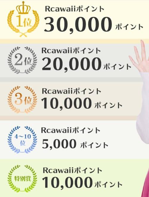 RcawaiiのSNS投稿キャンペーン