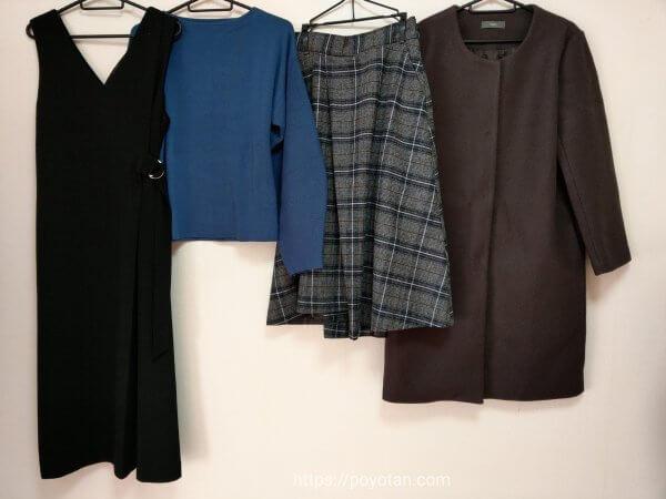 エディストクローゼット(EDIST. CLOSET)から冬に届いた洋服