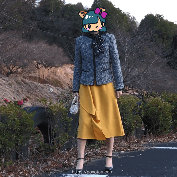 エアークローゼットのジャケットコーディネート