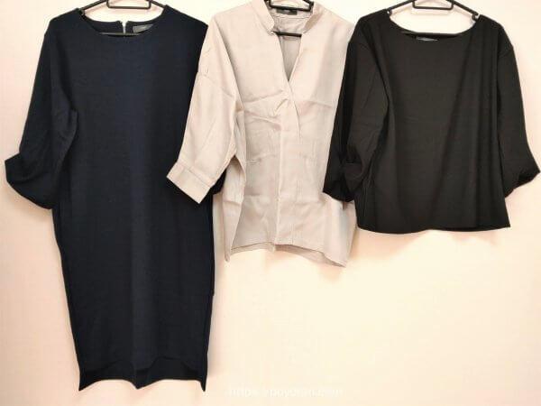 エディストクローゼットの福袋の洋服