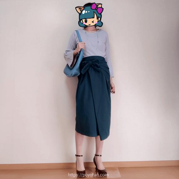 エアークローゼット(airCloset)体験ブログ:スカートがエアクロです