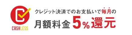 leeapキャッシュレス消費者事業還元5%対応