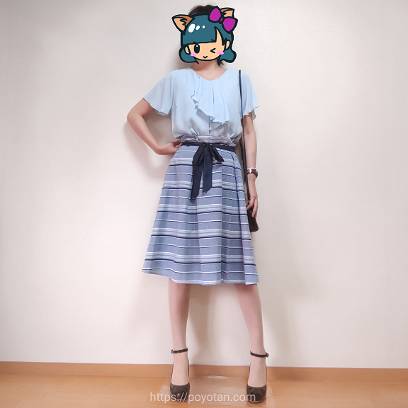 エアクロエイブルのオンラインセールで買った服