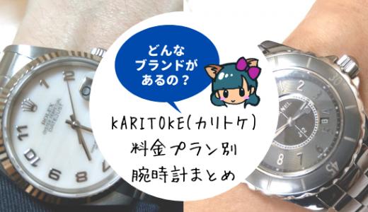 カリトケ(KARITOKE)月額料金プラン・支払い方法!デビットカードは使える?