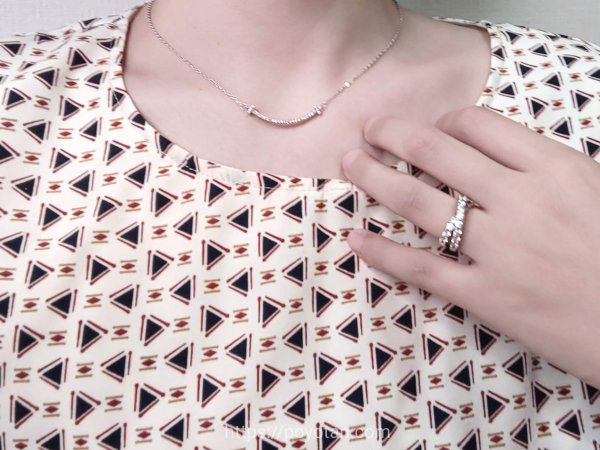 エアークローゼットの三角の柄が特徴的すぎたワンピース