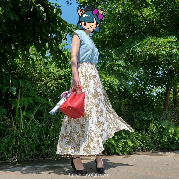 エディストクローゼットのWEBストア販売のスカート