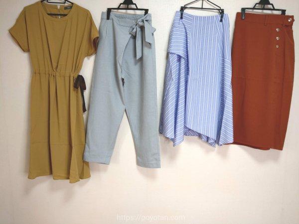 エディストクローゼット(EDIST. CLOSET)から夏に届いた洋服
