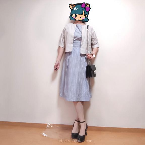 エディストクローゼット:リネン風ショートジャケット