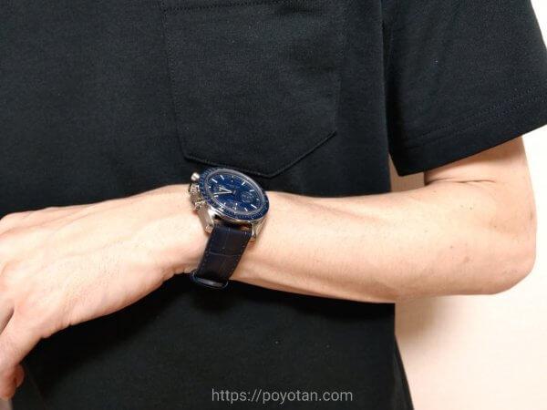 KARITOKE(カリトケ)の腕時計:オメガ・スピードマスター・ムーンウォッチブルー