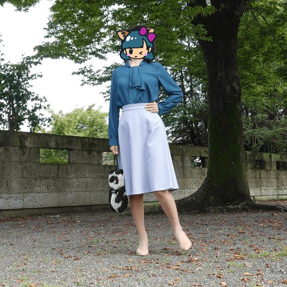 エアークローゼット(airClsoet)秋に届いたブラウス・スカート