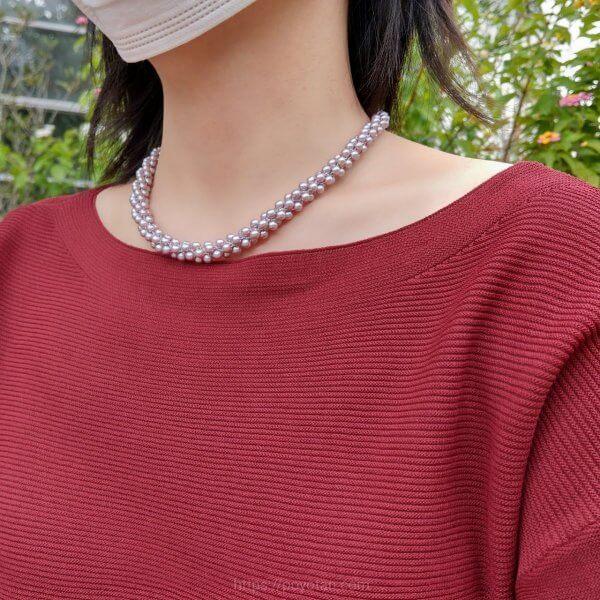 SHAREL(シェアル)ジュエリー:タサキの真珠ネックレス