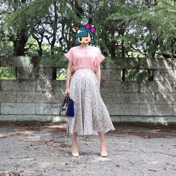 エディストクローゼット(EDIST. CLOSET)のカットソーとスカート