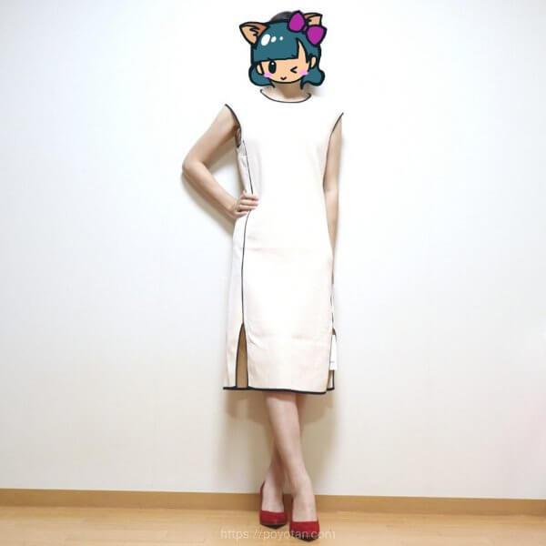 おうちでファッションショー(Cawalu)のコーデ